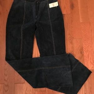Wilsons Leather Pants - Suede trousers